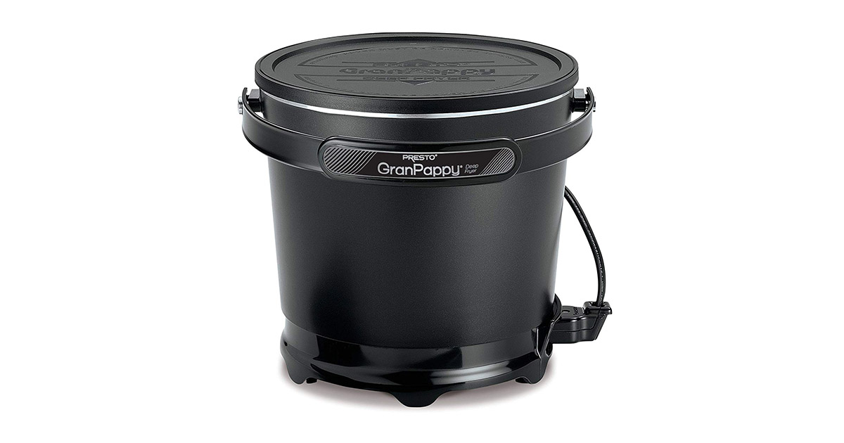 Presto 05411 GranPappy Electric Deep Fryer image