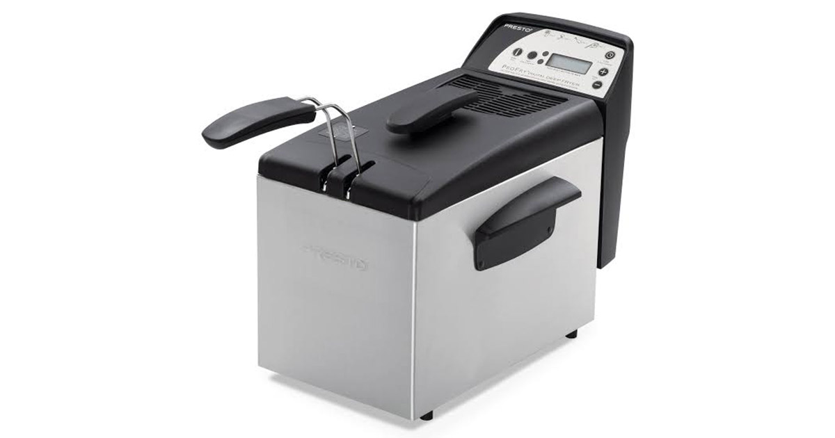 Presto 05462 Digital ProFry immersion element deep fryer image