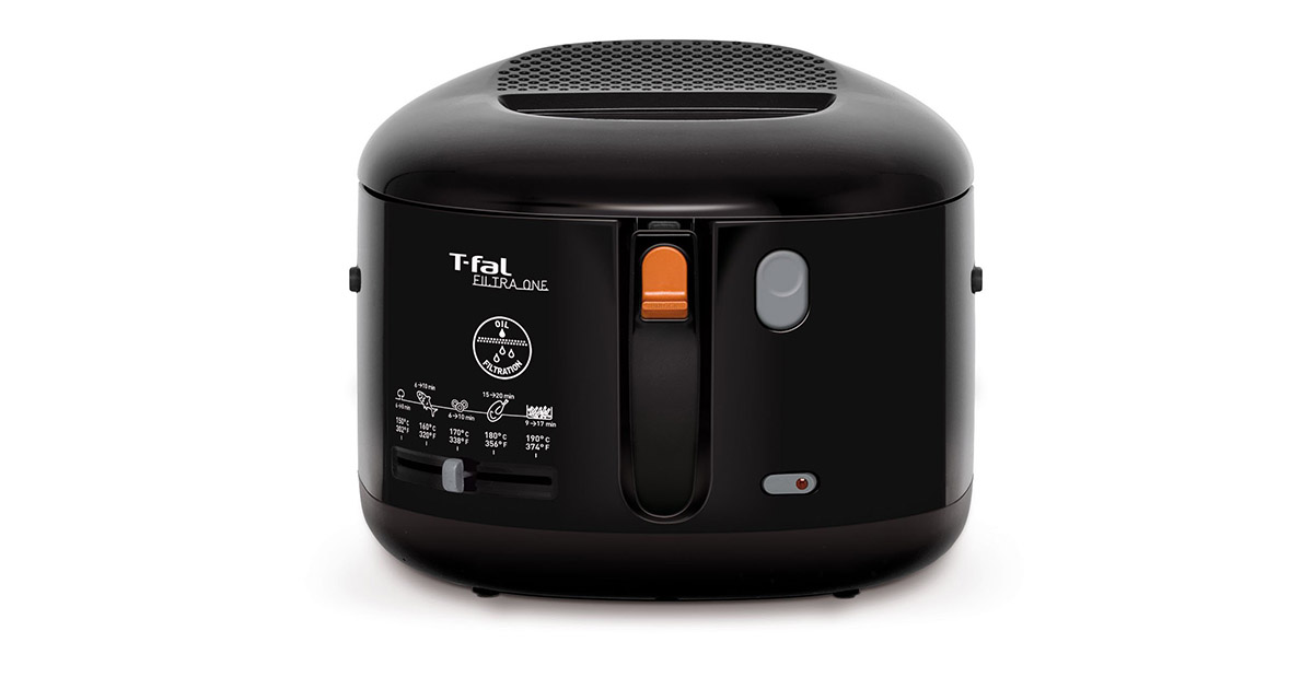 T-fal FF1628 Electric Black Deep Fryer image