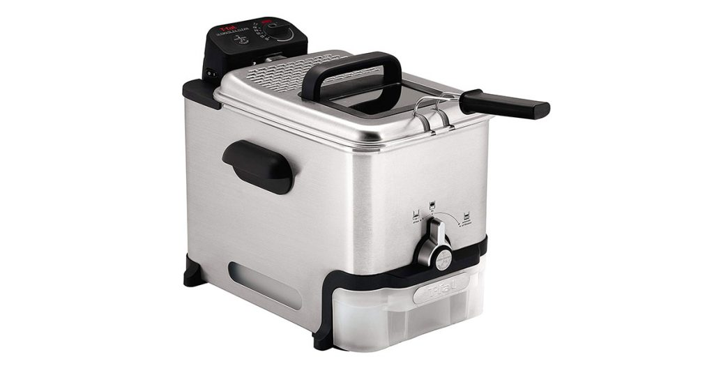 T-fal FR8000 Stainless Steel Deep Fryer with Basket image