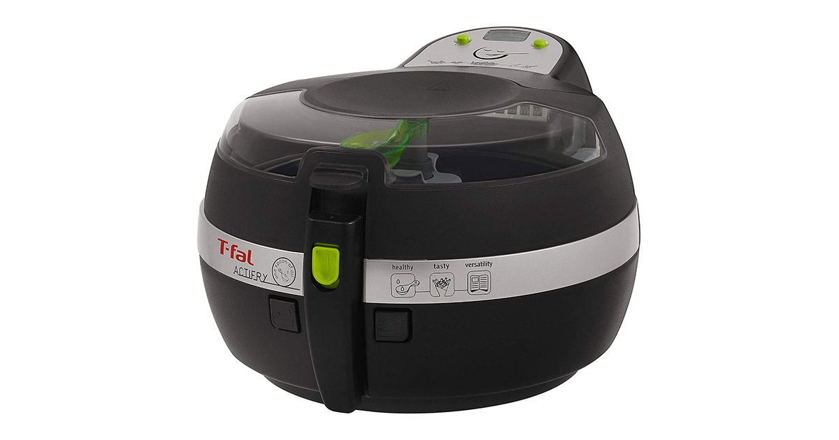 T-fal FZ700251 Actifry Oil Less Black Air Fryer image