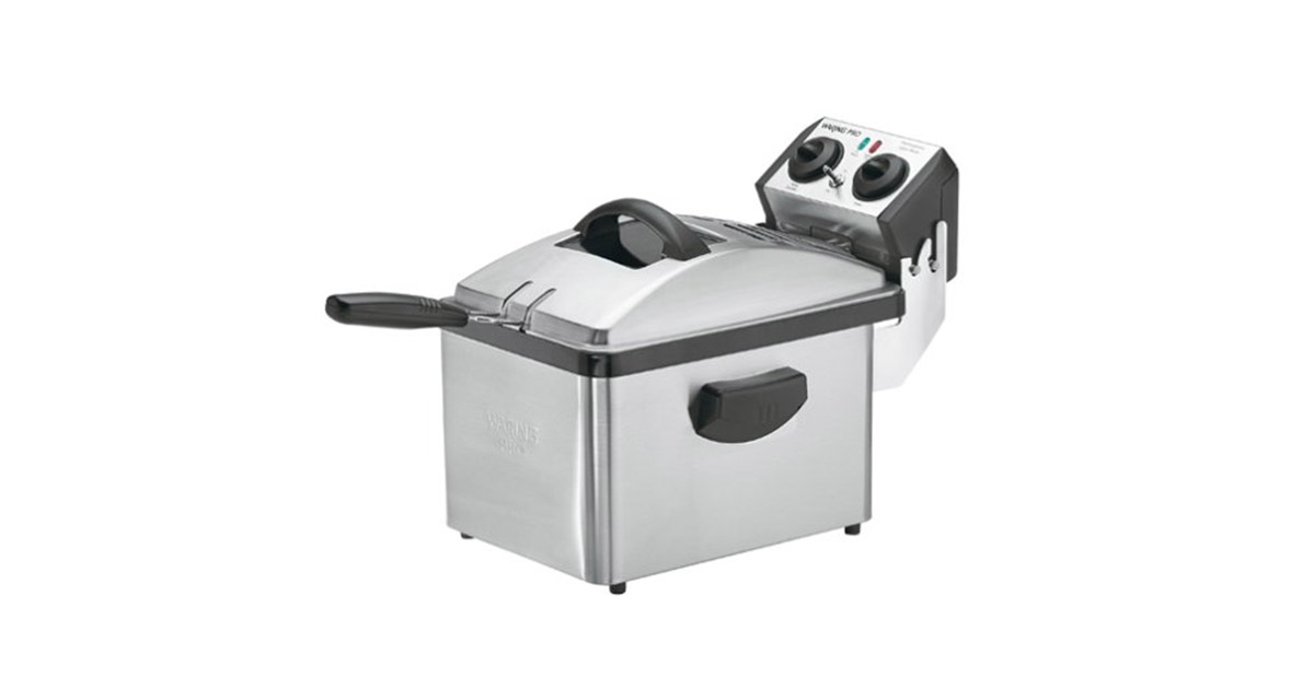Waring DF200 Professional Brushed Stainless Steel Deep Fryer image