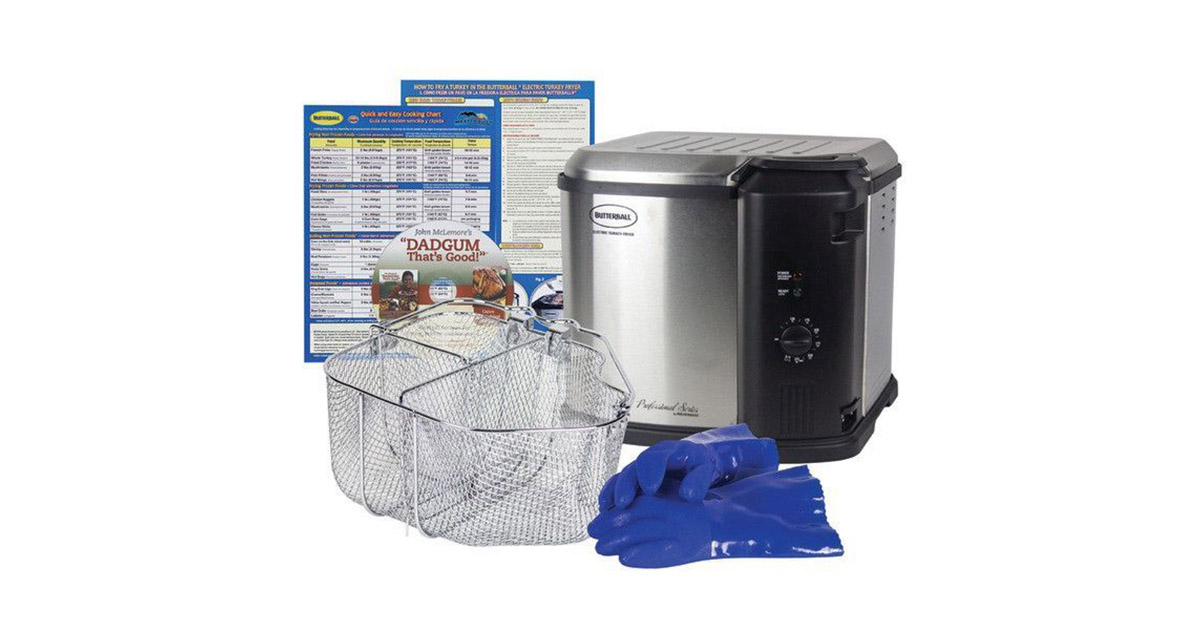 Butterball 23011514 Electric Fryer image