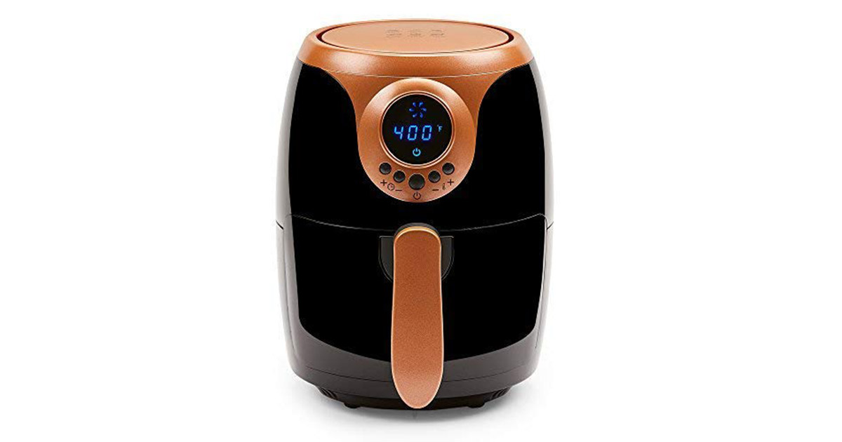 Copper Chef 2 QT Black Turbo Cyclonic Air Fryer image