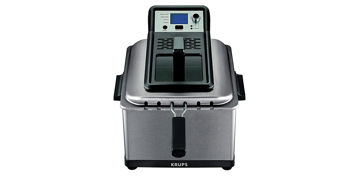 KRUPS KJ502D51 Electric Silver Deep Fryer image