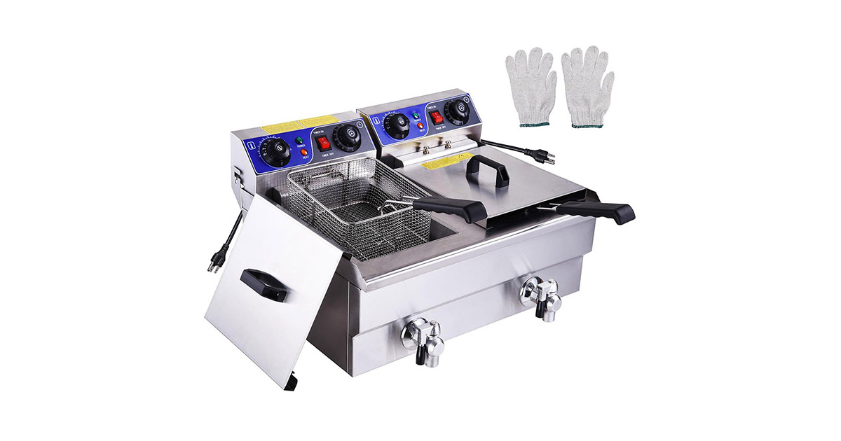 PNR Commercial Electric Deep Fryer image