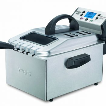 Waring Pro DF280 Professional Brushed Stainless Deep Fryer DISCONTINUED image