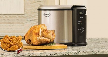 Best-Rated Turkey Deep Fryers of different sizes and types | Enjoy the full-size roast!