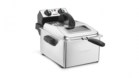 Cuisinart CDF-200 Deep Fryer – You can enjoy the fast heat-up and recovery time!