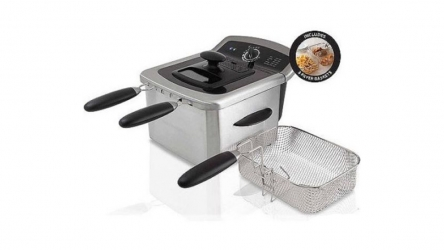 Farberware 4 Liter Deep Fryer – You can make different dishes with its 3 Fryer Baskets!